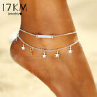 anklet foot layer star pendant new summer yoga beach leg bracelet charmj ewelry