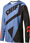 Shift Racing Blue/Black Black Label Mainline Dirt Bike Jersey MX ATV BMX MTB