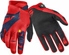 Shift Racing Navy Blue/Red Black Label Pro Mainline Dirt Bike Gloves MX ATV BMX