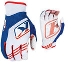 Klim Mens Blue/Red/White XC Dirt Bike Gloves MX ATV Motocross Off-Road 2016