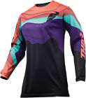 Thor Womens Black/Coral Pulse Depths Dirt Bike Jersey MX ATV 2019