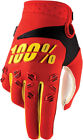 100% Mens & Youth Red/Yellow/Black Airmatic Dirt Bike Gloves