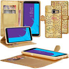 For Samsung Galaxy A5 2017 &amp; A8 2018 Flip Cover Wallet PU Leather Phone Case <br/> Ships from Canada &amp; Delivered in a Few Days / Fast Free