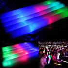 150 PCS Light Up Foam Sticks LED Wands Rally Rave Batons DJ Flashing Glow Stick
