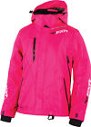 FXR Womens Fuchsia Snowmobile Vertical Lite Jacket Snocross