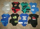 Внешний вид - NIKE JORDAN Newborn Infant Baby Set 0-6,6-12 Months Bodysuit Booties Boys Girls