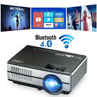 Android Bluetooth LED Small Projector Home Theater Game Party Movie HDMI AV Gift