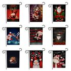Merry Christmas Garden Flags Party Decor Weatherproof Yard B