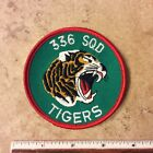 RNoAF 336 Squadron Tigers Military Patch Rygge Main Air Station