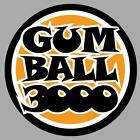 gumball 3000 sticker vinyle