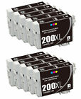 Epson 200XL Color Black Ink Cartridge-WorkForce WF2010 WF2520 WF2540 XP310 XP41