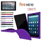 Shockproof Silicone Case Protective Cover For Amazon Kindle Fire HD 10 7th 2017
