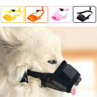New Puppy Stop Chewing Muzzle Safety Soft Adjustable Pet Dogs Mouth Mask S-2XL
