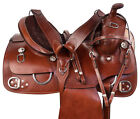 Western Training Leather Horse Saddle Ranch Roping Comfy Pleasure Trail Tack