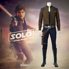 Movie Solo: A Star Wars Story Han Solo Costume Cosplay Halloween Full Set Outfit $90.02 USD on eBay