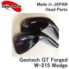 【HEAD ONLY】GEOTECH GOLF JAPAN Geotech GT FORGED W-215 WEDGE 091810