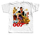 James Bond: The Man with the Golden Gun V2, T-Shirt (WHITE) All sizes S to 5XL $26.57 AUD on eBay