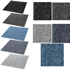 Job Lot of 20 Units Carpet Tiles 5sqm 50x50cm Home Office Industrial Floor Cover