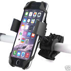 Bike Bicycle Plastic Mount Holder W/ Silicone Support Bands For Moble Phones GPS