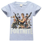 Kids Fortnite Costume Cosplay Casual Tops T shirt +Pants Outsets Outfits Pyjamas
