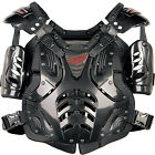 Fly Racing Convertible II Black Motocross Offroad Riding Chest Roost Protector