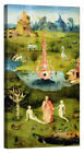 Stampa su Tela Vernice Effetto Pennellate Bosch - The Garden of Earthly Delights