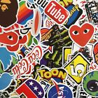 Matte Finish Brand Stickers - Singles & Bundles - Tech, Skate, Clothing 40+ £1.29  on eBay