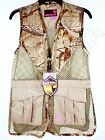 Ladies Dove Bird Hunting Vest Real Tree Xtra Camo Women Girl Female Woman NWT