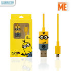 [Minions] - Minions BOB/STUART/KEVIN USB Charge Cable Android Limited Edition
