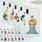 Ultra Thin BNHA My Hero Academia Anime Phone Case For iPhone Xs Max XR 7 8Plus