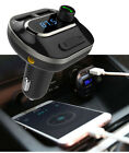 Handsfree Calling Car Tool Kit Bluetooth Wireless Fm Transmitter iPhone Charger