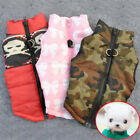 Pet Dog Clothing Soft Padded Vest Harness Puppy Down Jacket Coat Warm Outwear US