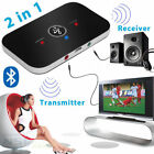 2 in 1 Bluetooth Transmitter&Receiver Wireless A2DP Home TV Stereo Audio Adapter