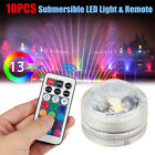 RGB Waterproof Flameless LED Tea Lights Remote Control Battery Powered for Party