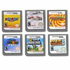 6PCS US Version MARIO Game Card For Nintendo DS NDS DSI 3DS DS XL Children Gift