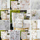 CHAIR CAPS COVERS 17 in Sheer Organza with Floral Design Wedding Party Event
