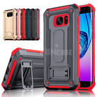 Внешний вид - For Samsung Galaxy S7 edge High Impact Rugged Shockproof Kick Stand Case Cover