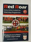 Redcar Athletic V Whitby Town North Riding Senior Cup 2017/18