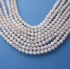 Pale Pink Jade Beads, Jewelry Making and Beading, Full Strand, 8mm (1)