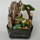 Water Fountains Resin Indoor Feng Shui Figurine Home Crafts Waterfall Decoration