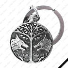 [HS2] Tree of Life Wolves Pendant Key Chain / Necklace ~ Thrones Game Destiny