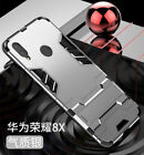 For Huawei Honor 8X 8C 7S 10 9 8 Lite Shockproof Hybrid Armor Stand Case Cover