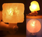 7W Bulb Himalayan Salt Lamp Rotary Control Switch Air Purifying Lamps Wall Light