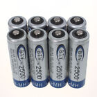 4/8/12/16/20PCS Battery 2500mAh Ni-MH AA 1.2V Rechargeable 2A Battery For Toys