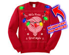 Mr Grinch Make X mas Great Again Donald Trump Men's Ugly Christmas Sweater Funny