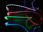 CHARGER IPHONE 5 5S 6 7 8 X IS LUMINOUS! USB CABLE LED IPAD MINI AIR IPOD