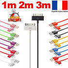 CHARGER IPHONE 4 IPHONE 4S USB CABLE REINFORCED DATA SYNCHRO IPOD IPAD 3 4/12ft