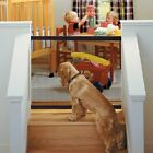 2018 Magic Dog Gate Pet Safety Guard Portable Folding Safe Net for Dog Baby USA