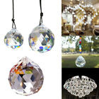 5Size Clear Feng Shui Hanging Crystal Ball Lamp Sphere Prism Rainbow Sun Catcher