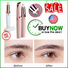 New LED Fashion Flawless Trimmer Women Removal Brows Touch Electric Hair Eyebrow